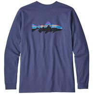 Patagonia Men's Fitz Roy Trout Responsibili-Tee Long-Sleeve T-Shirt