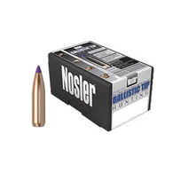 "Nosler Ballistic Tip 6mm 95 Grain .243"" Spitzer Point / Purple Tip Rifle Bullet (50)"