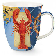 Cape Shore Maine Lobster Bay Harbor Mug