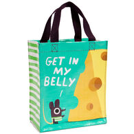 Blue Q Women's Get In My Belly Handy Tote Bag