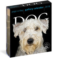 Dog 2018 Page-A-Day Gallery Calendar by Workman Publishing
