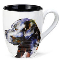 Big Sky Carvers Black Lab Mug