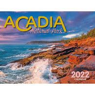 Maine Scene Acadia National Park 2022 Wall Calendar