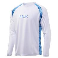 Huk Men's Strike Solid Long-Sleeve Shirt