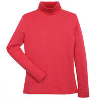 Fera Women's Cotton/Cotton Blend Long-Sleeve Turtleneck