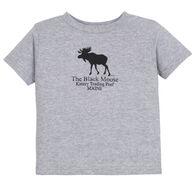 Original Design Toddler Kittery Trading Post Black Moose Short-Sleeve T-Shirt