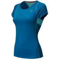 New Balance Women's Accelerate Short-Sleeve Shirt
