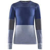 Craft Sportswear Women's Fuseknit Comfort Blocked Long-Sleeve Top