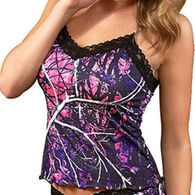 Wilderness Dreams Women's Muddy Girl Lace-Trimmed Camisole