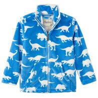 Hatley Boys' Roaming Dinos Fuzzy Full Zip Up Fleece Jacket