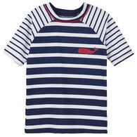 Hatley Toddler Boy's Nautical Stripes Short-Sleeve Rashguard