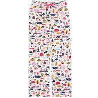 Hatley Women's Cute Cottage Pajama Pant