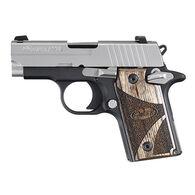 "SIG Sauer P238 Two-Tone Blackwood 380 Auto 2.7"" 6-Round Pistol"