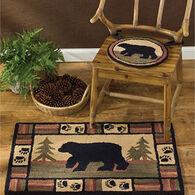 Park Designs Adirondack Bear Hook Rug