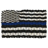 Custom Cordage Maine Rope Flag - Thin Blue Line