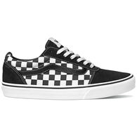 Vans Men's Ward Checkerboard Suede Canvas Sneaker
