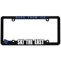 Ski The East License Plate Frame