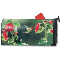 MailWraps Hummingbird Delight Magnetic Mailbox Cover