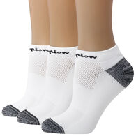 Champion Women's Embroidered Logo Low Cut Sock, 3/pk