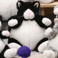 "Unipak Designs Plush 9"" Black Cat Plumpee"