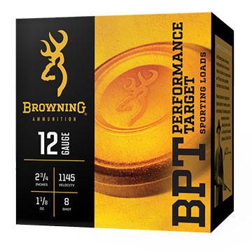 "Browning BPT Performance Target 20 GA 2-3/4"" 1 oz. #7.5 Shotshell Ammo (25)"