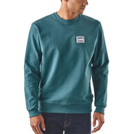 Patagonia Men's Shop Sticker Patch Uprisal Crew Sweatshirt
