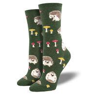 Socksmith Design Women's Slow Poke Crew Sock