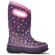 Bogs Girls' Classic Rainbow Insulated Winter Boot