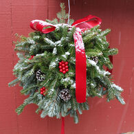 "Winnipesaukee Wreath 14"" Kissing Ball"