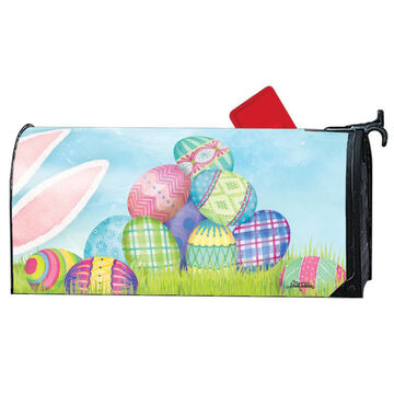 MailWraps Wheres the Bunny Magnetic Mailbox Cover