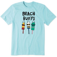 Life is Good Men's Beach Buoys Crusher Short-Sleeve T-Shirt