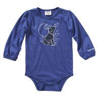 Carhartt Infant Girl's Heather Graphic Long-Sleeve Bodysuit