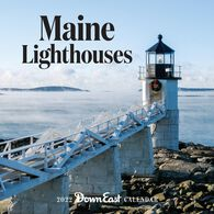 Maine Lighthouses: Down East 2022 Wall Calendar by Editors of Down East