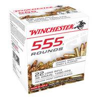 Winchester 22 LR 36 Grain HP Rimfire Ammo (555)