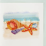 Quilling Card Seashells Everyday Card