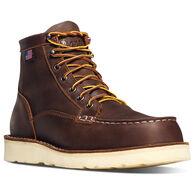 "Danner Men's Bull Run Moc Toe 6"" Steel Toe Work Boot"
