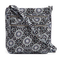 Vera Bradley Signature Cotton 21672 Iconic Triple Zip Hipster Bag