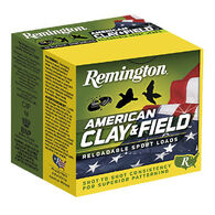 "Remington American Clay & Field 12 GA 2-3/4"" 1-1/8 oz. #8 Shotshell Ammo (25)"