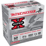 "Winchester Super-X Xpert Hi-Velocity Steel 12 GA 2-3/4"" 1-1/16 oz. BB Shotshell Ammo (25)"