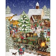 White Mountain Jigsaw Puzzle - Christmas Train