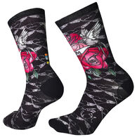 Smartwool Men's Mom Forever Print Crew Sock - Special Purchase