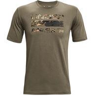 Under Armour Men's UA Stacked Logo Fill Short-Sleeve T-Shirt