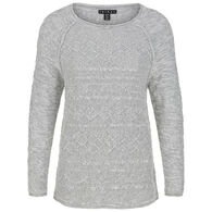 Tribal Women's Cable Cotton Sweater