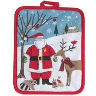 Kay Dee Designs Woodland Christmas Santa Potholder