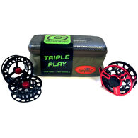 Cheeky Boost 350 5-6 Wt. Triple Play Fly Reel and Spool Bundle