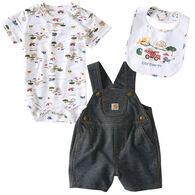 Carhartt Infant/Toddler Boys' Construction Set, 3pc