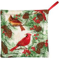 Maine Balsam Fir Winter Cardinals Trivet