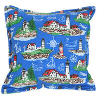 "Paine Products 6"" x 6"" Lighthouses Balsam Pillow"