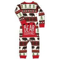 Lazy One Infant Boys' Bear Essentials Flap Jack