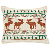"Paine Products 6"" x 7"" Moose Balsam Pillow"